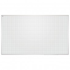 Доска магнитно-маркерная 2х3 - Education, 85x100 см, клетка, алюминиевая рамка