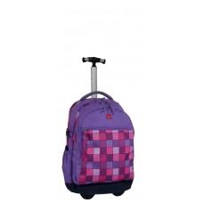 Рюкзак на колесах Take It Easy с телескопической ручкой - Миссия