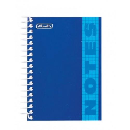 Блокнот Herlitz TF 200 листов в клетку, синий