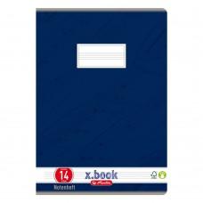 Тетрадь Herlitz нотная А4 8 листов, синяя