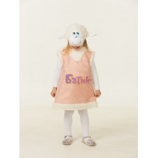 Карнавальный костюм Батик - Овечка Карамелька, размер 26-28