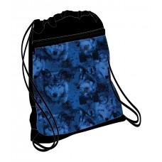 Мешок для обуви Belmil Wolves Blue
