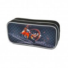 Пенал-косметичка MagTaller - Motorbike, 2 молнии