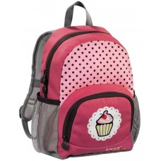 Рюкзак детский Step By Step Junior Dressy Sweet cake красный/серый