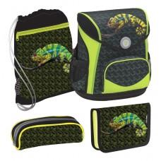 Ранец Belmil Cool Pack - Gecko с наполнением