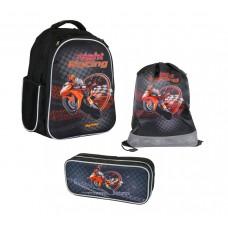 Рюкзак школьный MagTaller Stoody - Motorbike, с наполнением