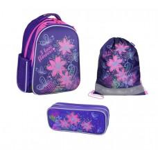 Рюкзак школьный MagTaller Stoody - Flowers, с наполнением