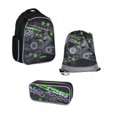 Рюкзак школьный MagTaller Stoody - Quadbike, с наполнением