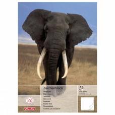 Альбом для рисования Herlitz А3 10 листов, слон