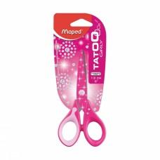Ножницы Maped Tatoo 13 см, розовые