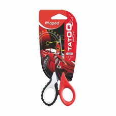 Ножницы Maped Tatoo 13 см, черные