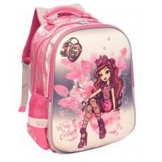 Ранец Mattel Super bag - Ever After High, серебрянно-розовый