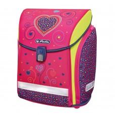 Ранец школьный Herlitz New Midi Pink Hearts без наполнения