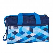 Сумка спортивная Herlitz XL Blue Cubes