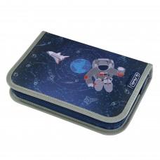 Пенал Herlitz Space Космонавт без наполнения 1 молния 2 створки