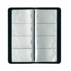 Визитница Herlitz 128 карточек искусственная кожа