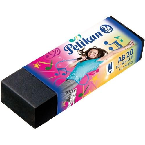 Ластик Pelikan чёрного цвета, девочка