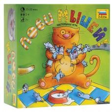 Игра настольная детская Звезда - Лови мышей