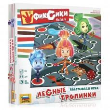 Игра-ходилка настольная детская Звезда - Фиксики. Лесные тропинки