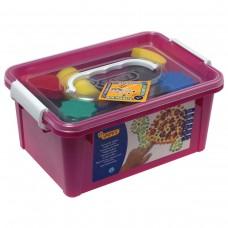 Краски пальчиковые Jovi, 6 цветов по 125 мл, 9 предметов