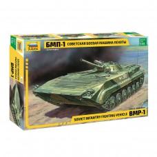 Модель для сборки Звезда - Авто. Боевая машина пехоты советская БМП-1, 1:35