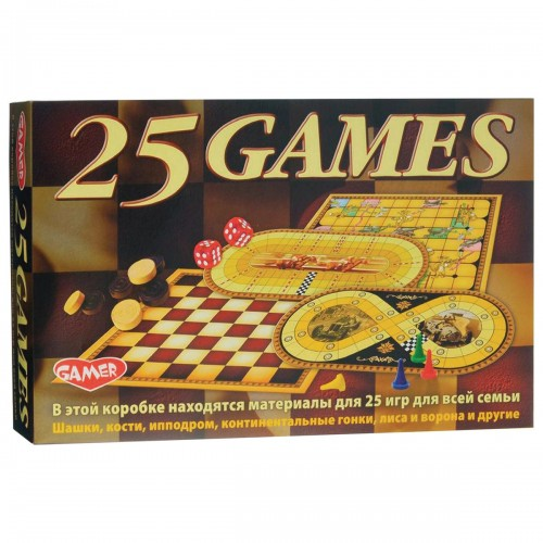 Игра настольная Dream Makers - 25 игр для всей семьи