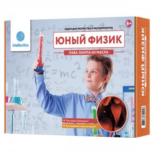 Набор для экспериментов Intellectico - Юный физик. Лава-лампа из масла