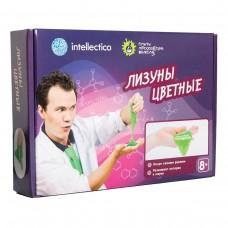 Набор для экспериментов Intellectico - Опыты профессора Николя. Лизуны цветные