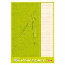 Миллиметровка Herlitz в блокноте А3 20 листов