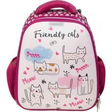 Ранец N1 School - Friendly cats