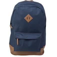 Рюкзак молодежный №1 School синий-коричневый
