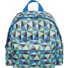 Рюкзак детский № 1School - Треугольники голубые