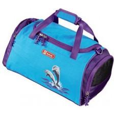 Сумка спортивная Step By Step Happy Dolphins голубой/фиолетовый (119708)