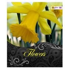 Тетрадь MagTaller А5 48 листов клетка, Flowers - Нарцисс