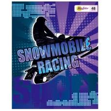 Тетрадь MagTaller А5 48 листов клетка, Snowmobile boarding