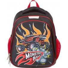 Ранец №1 School Compact - Monster Rally