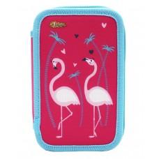 Пенал №1 School - Flamingo
