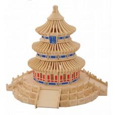 3D деревянный пазл - Пагода