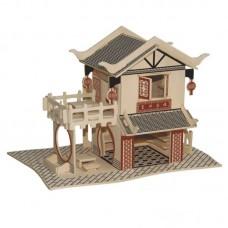 3D деревянный пазл - Китайский ресторан