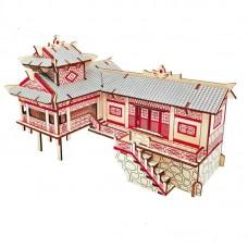 3D деревянный пазл - Китайский дом
