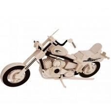 3D деревянный пазл - Мотоцикл