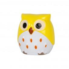 Точилка для карандашей AnimalWorld Совенок желтый