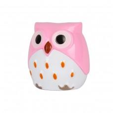 Точилка для карандашей AnimalWorld Совенок розовый