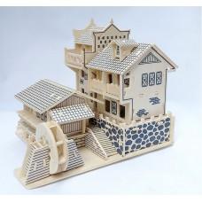 3D деревянный пазл Мировые памятники архитектуры Древний город Фэнхуан Китай