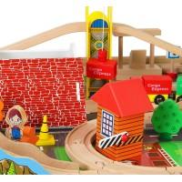 Деревянная железная дорога - Большое путешествие, 118 деталей