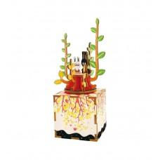 3D деревянный пазл Музыкальная шкатулка Весна