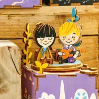 3D деревянный пазл Музыкальная шкатулка Летний день