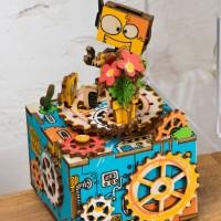3D деревянный пазл Музыкальная шкатулка Выступление
