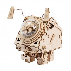 3D деревянный пазл Robotime Музыкальная шкатулка Сеймур