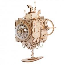 3D деревянный пазл Robotime Музыкальная шкатулка Субмарина